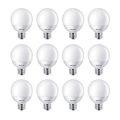 4.5W=40W Soft White  G25 LED  Light Bulb (12-pack)