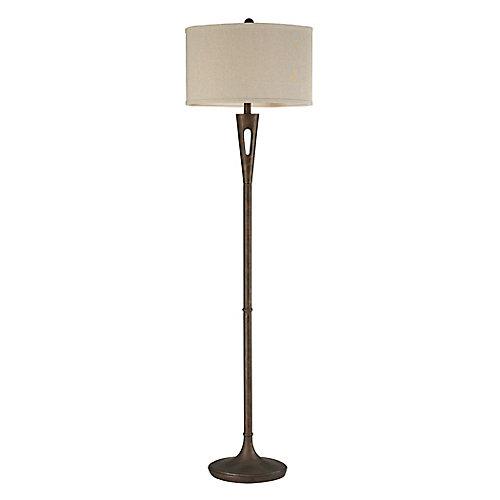 Martcliff 65 inch Floor Lamp in Burnished Bronze