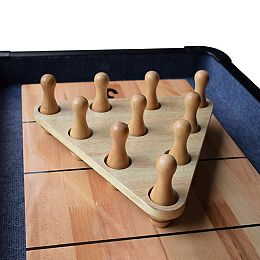 Ensemble de quilles de bowling pour table de shuffleboard