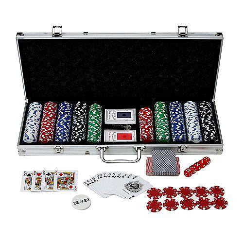Monte Carlo 500-Piece Poker Set