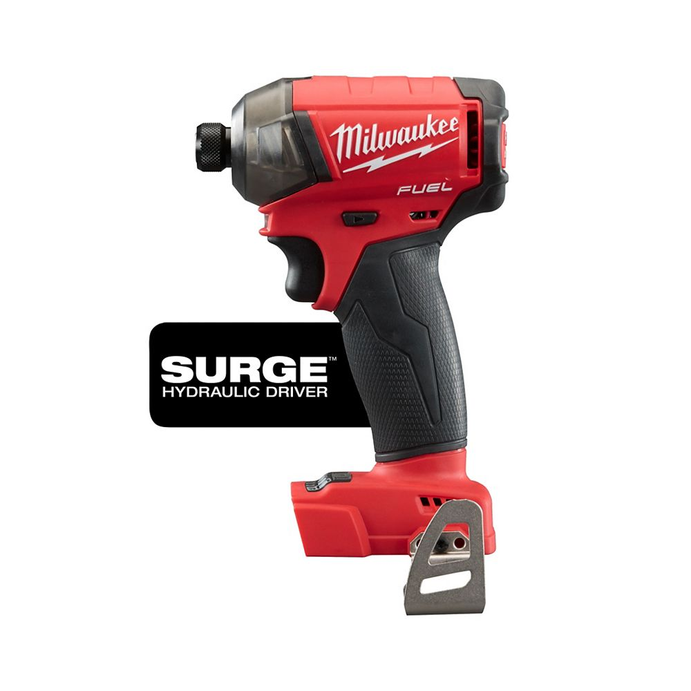 Milwaukee Tool M18 Fuel 18V Surge 1/4 pouce Hex Hydraulic Driver (outil seulement) | Home Depot Canada