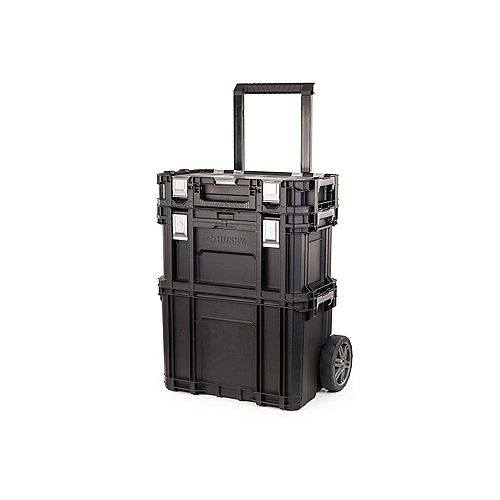 22-inch Rolling Tool Storage Cart with Connect System