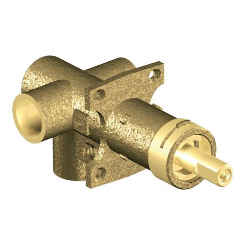 Brass Rough-in 3-Function Transfer Shower Valve - 1/2-inch CC Connection