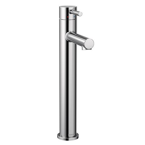 Align Single Hole Single-Handle Vessel Bathroom Faucet in Chrome