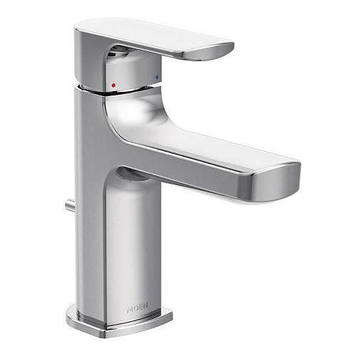 Rizon Single Hole Single-Handle Bathroom Faucet in Chrome