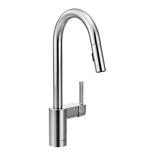 Align One-Handle High Arc Pulldown Kitchen Faucet In Chrome