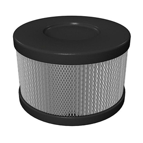 Roomaid Snap On Cartridge Replacement HEPA Filter for Air Purifiers in Black/Slate