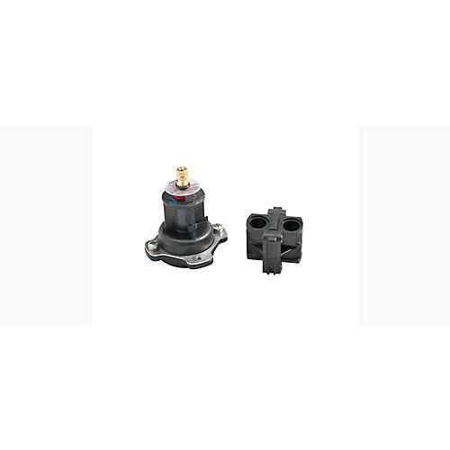 Faucet Mixer Cap and Pressure-Balancing Unit