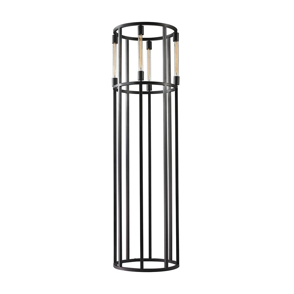 Titan Lighting Tube 66 Inch 4 Light Cylinder Floor Lamp