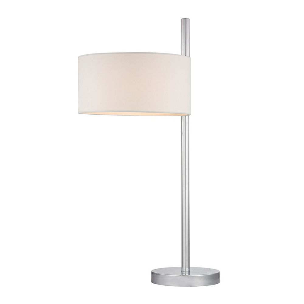 Titan Lighting Attwood 25 Inch Table Lamp in Polished Nickel