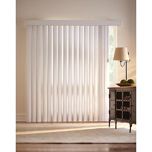 3.5-inch Vertical Blind Kit Vine Opal 78-inch x 84-inch