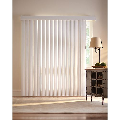 3.5-inch Vertical Blind Kit Vine Opal 78-inch x 84-inch