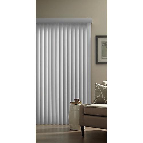3.5-inch Vertical Blind Kit Warm Grey 78-inch x 84-inch