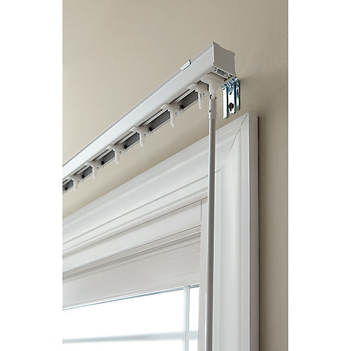 78 -inch W Head Rail for 3-1/2 -inch Vertical Blind in White