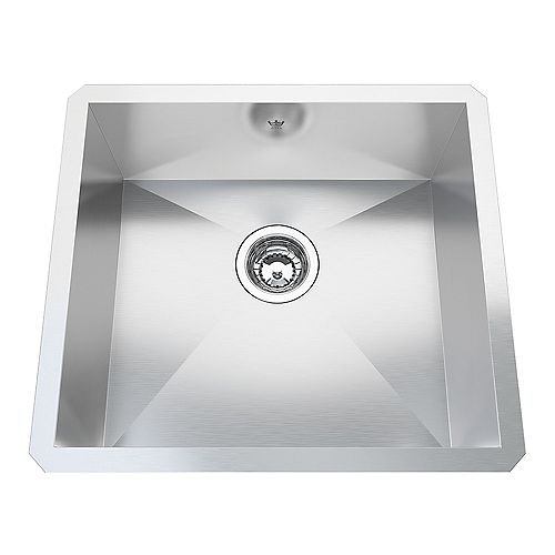 20 Ga HandFab UM Single Sink