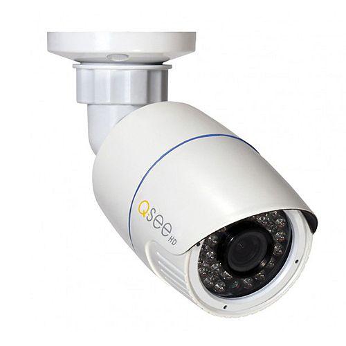 Caméra ogivale IP à objectif fixe 1080 pixels