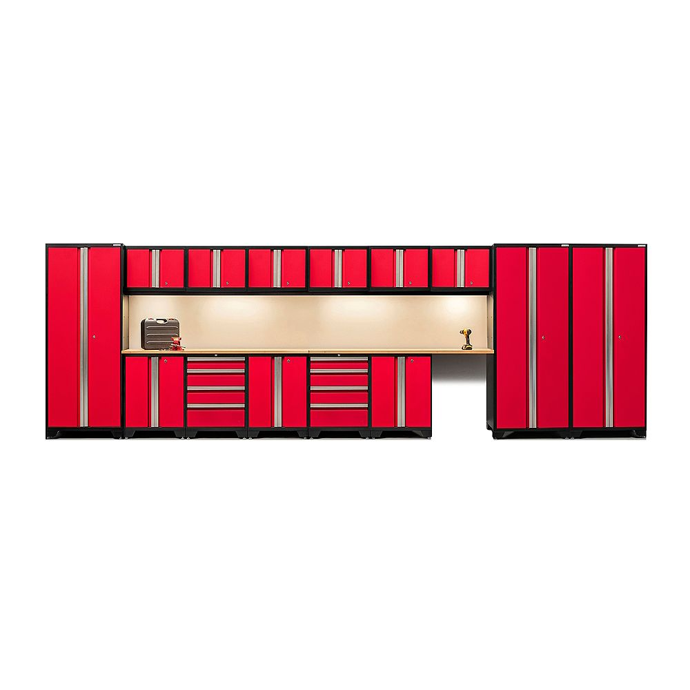 NewAge Products Inc. Bold Series 16-Piece Set Red