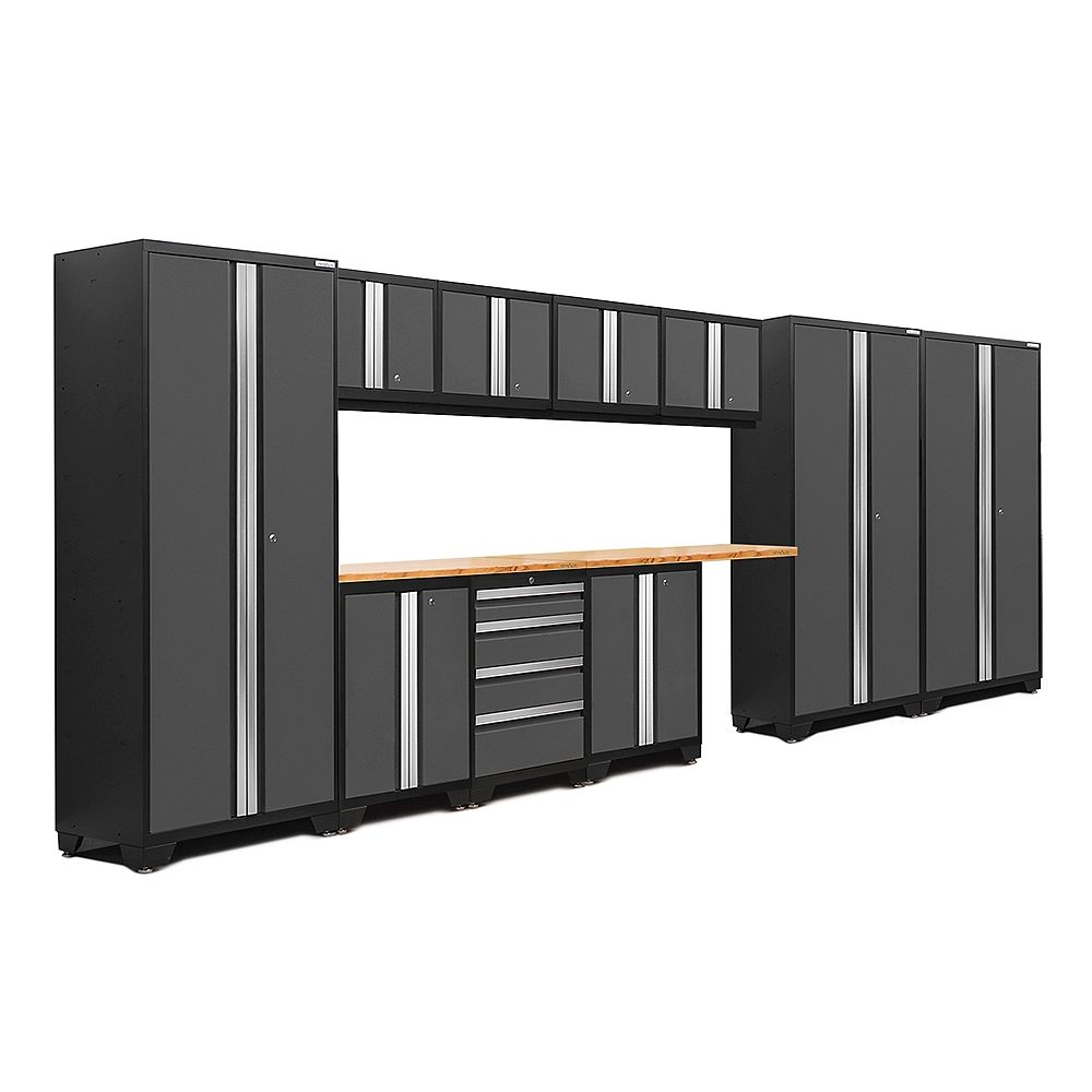 NewAge Products Inc. Ensemble de 12 morceaux Série 3.0 Bold – Gris