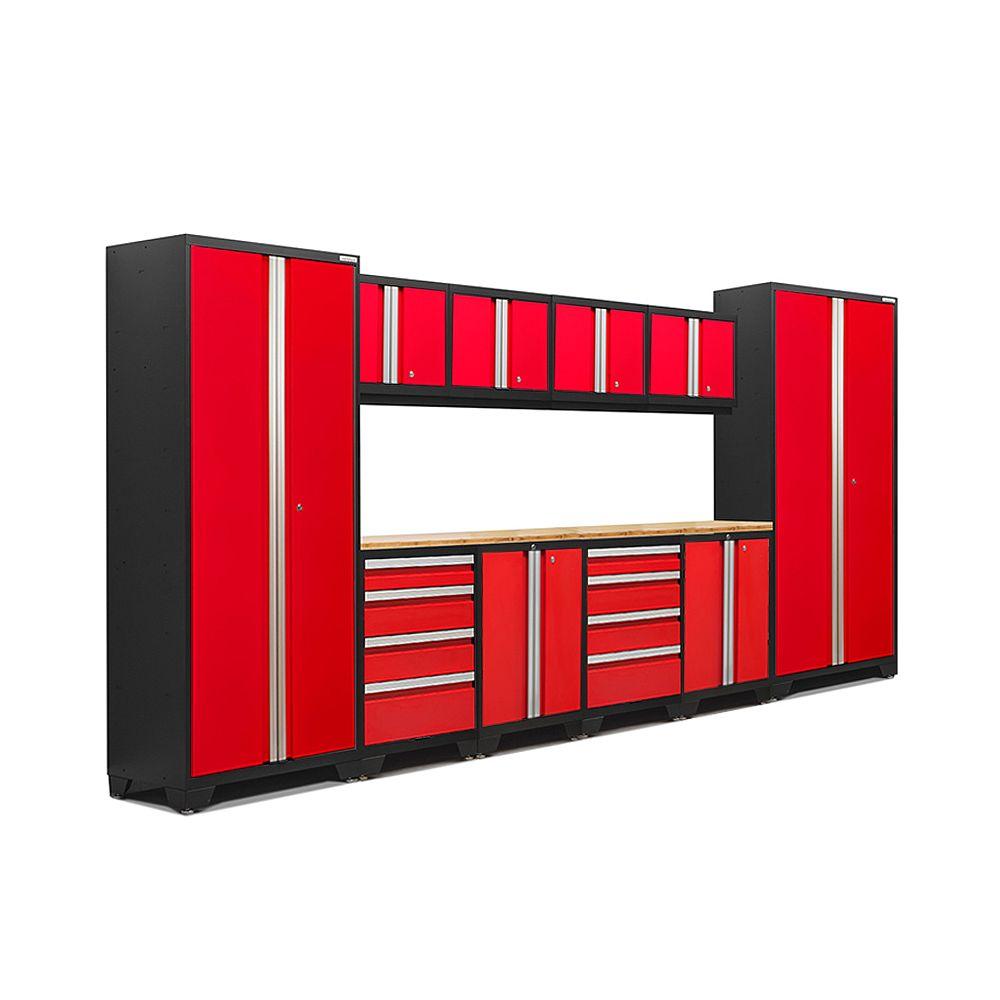 NewAge Products Inc. Ensemble de 12 morceaux Série 3.0 Bold  Rouge