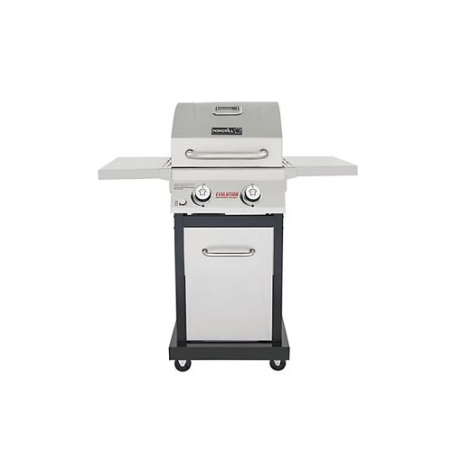 Evolution 2-Burner Propane BBQ in Stainless Steel with Infrared Technology