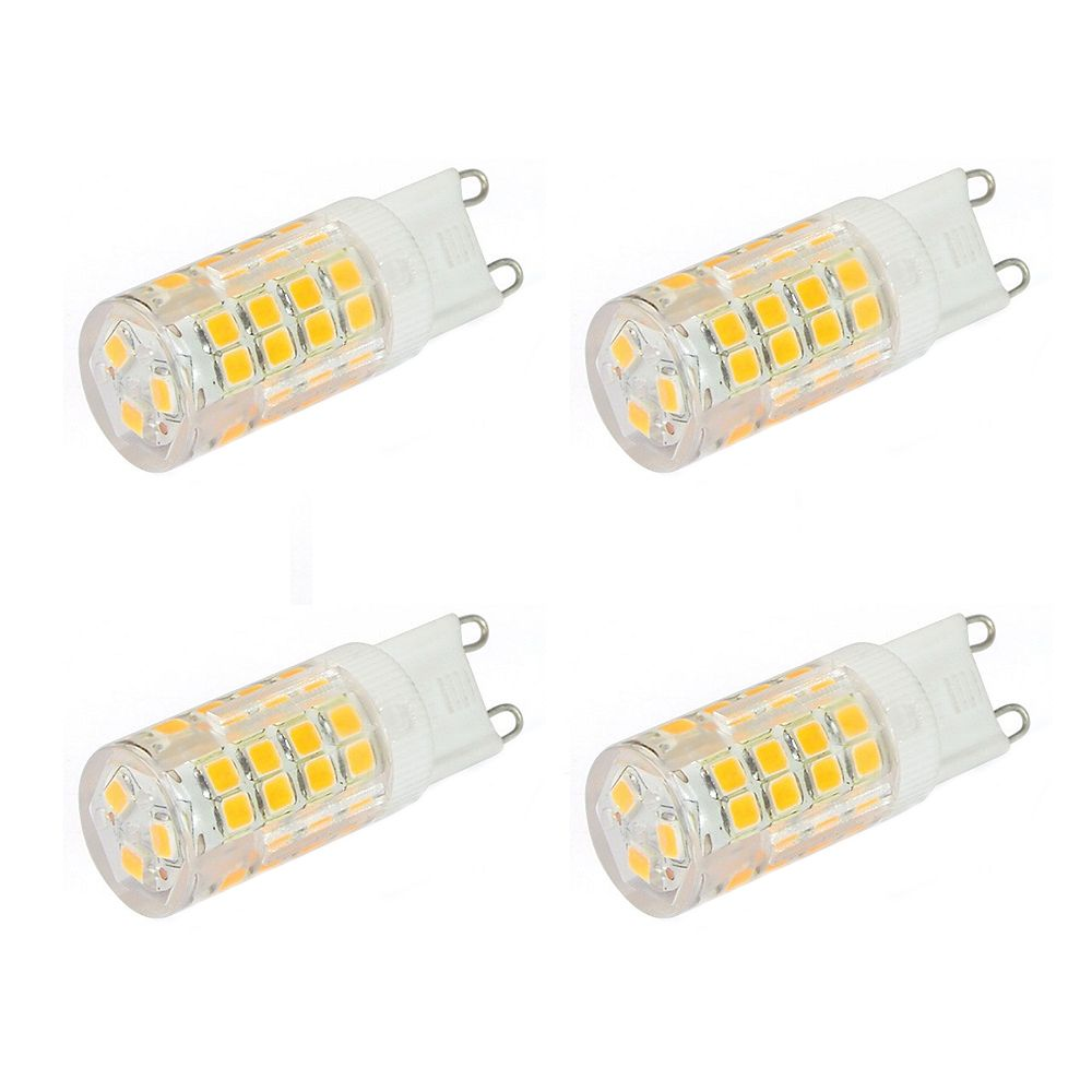 Strak LED 70W Equivalent 3000K G9 CRI80 Dimmable LED Light Bulb (4-Pack)