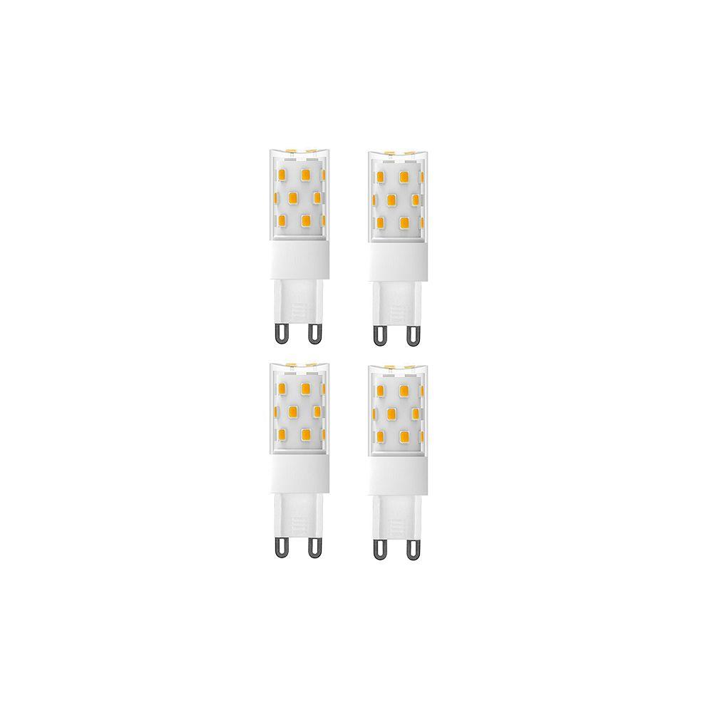 Strak LED 70W Equivalent 4000K G9 CRI80 Dimmable CETL LED Light Bulb (4-Pack)