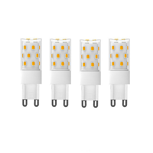 70W Equivalent (5000K) G9 CRI80 Dimmable CETL LED Light Bulb (4-Pack)