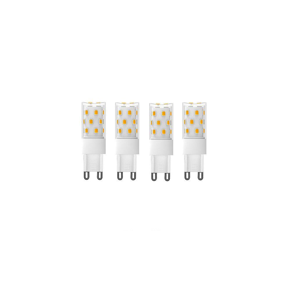 Strak LED 70W Equivalent (5000K) G9 CRI80 Dimmable CETL LED Light Bulb (4-Pack)