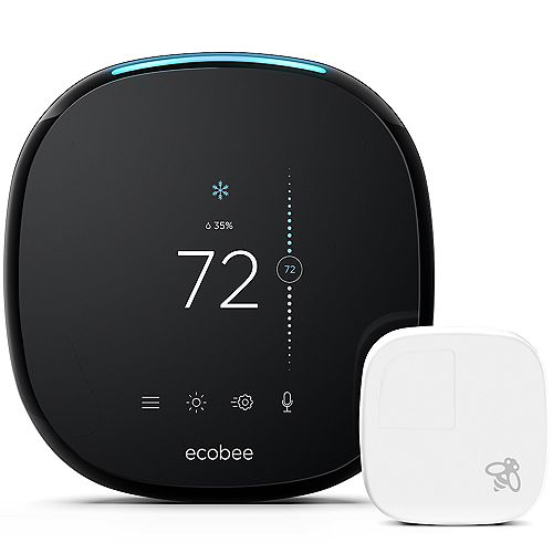 Smart Wi-Fi Thermostat with Room Sensor and Alexa Voice Service - ENERGY STAR®