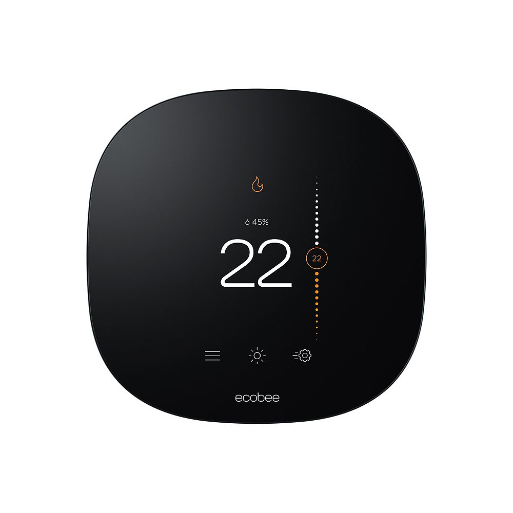 ecobee 3 Lite Wi-Fi Programmable Thermostat With Smart Home Integration - Energy Starâ®