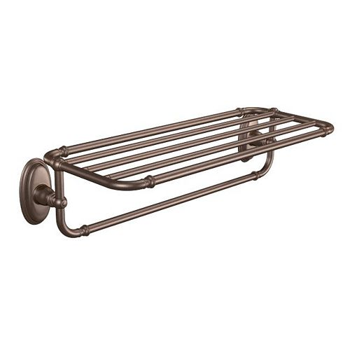 Kingsley Hotel Towel Shelf In Oil Rubbed Bronze