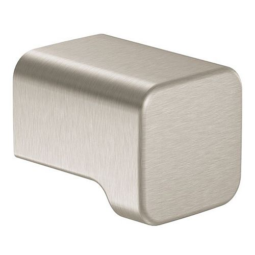90 Degree Cabinet Knob And Drawer Pull In Brushed Nickel