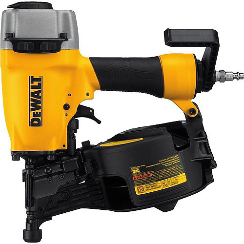 Pneumatic 15-Degree Coil Siding Nailer