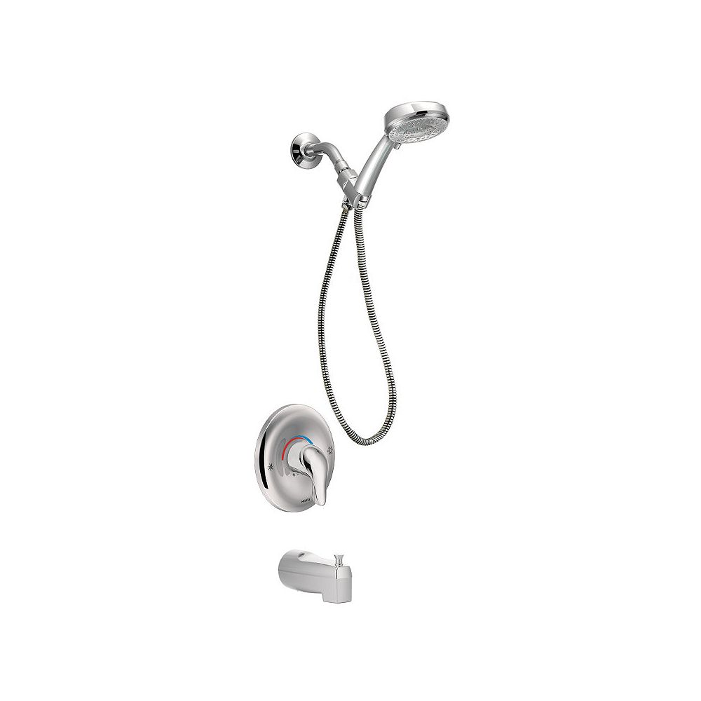MOEN Chateau Posi-Temp Tub/ShowerTrim Kit with Hand Shower in Chrome (Valve Sold Separately)