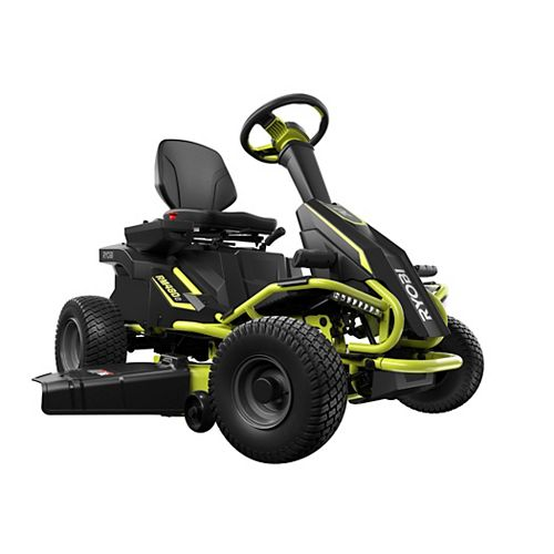 RYOBI 38-inch 75 Ah Battery Electric Rear Engine Riding Lawn Mower