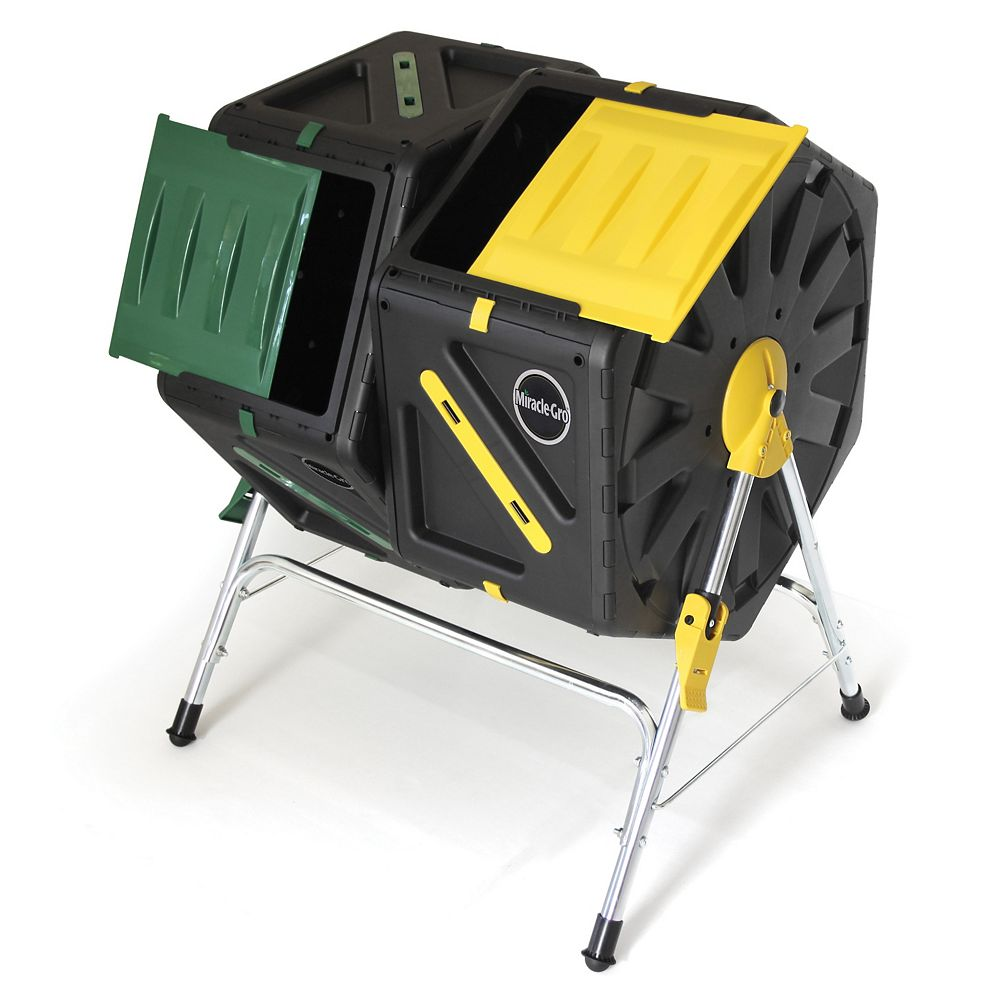 Miracle-Gro Tumbling Composter with 70L Dual Chambers