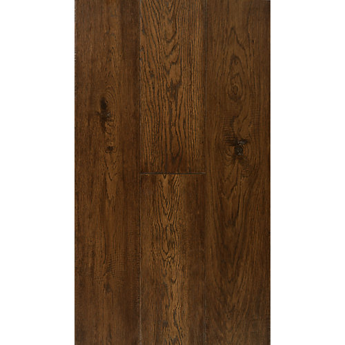 6 1/2-inch Engineered Burnt Umber Oak Hardwood Flooring (38.79 sq. ft. / case)