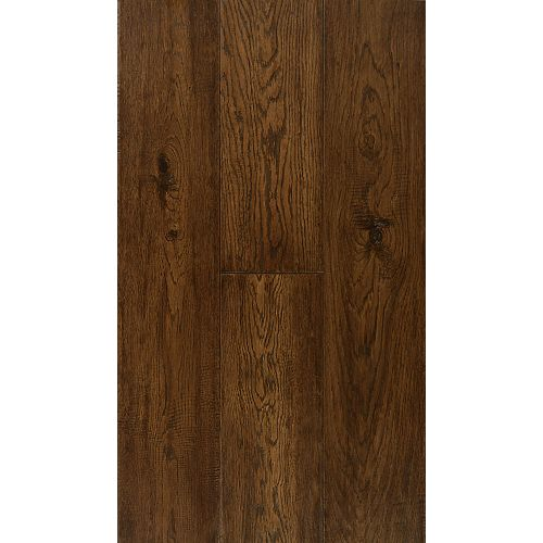 Power Dekor 6 1/2-inch Engineered Burnt Umber Oak Hardwood Flooring (38.79 sq. ft. / case)