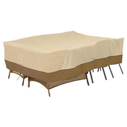 Classic Accessories Veranda Patio Furniture Group Cover, Large