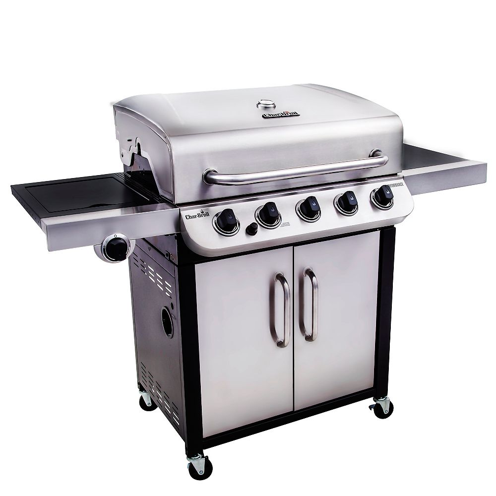 Char-Broil Performance 550 45,000 BTU 5-Burner Cabinet Gas BBQ
