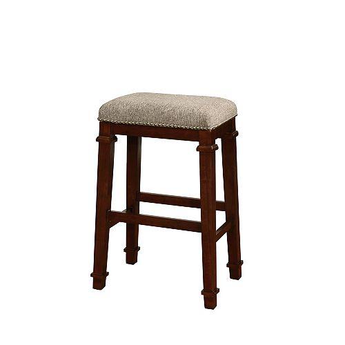 Kennedy Backless Bar Stool - Tweed