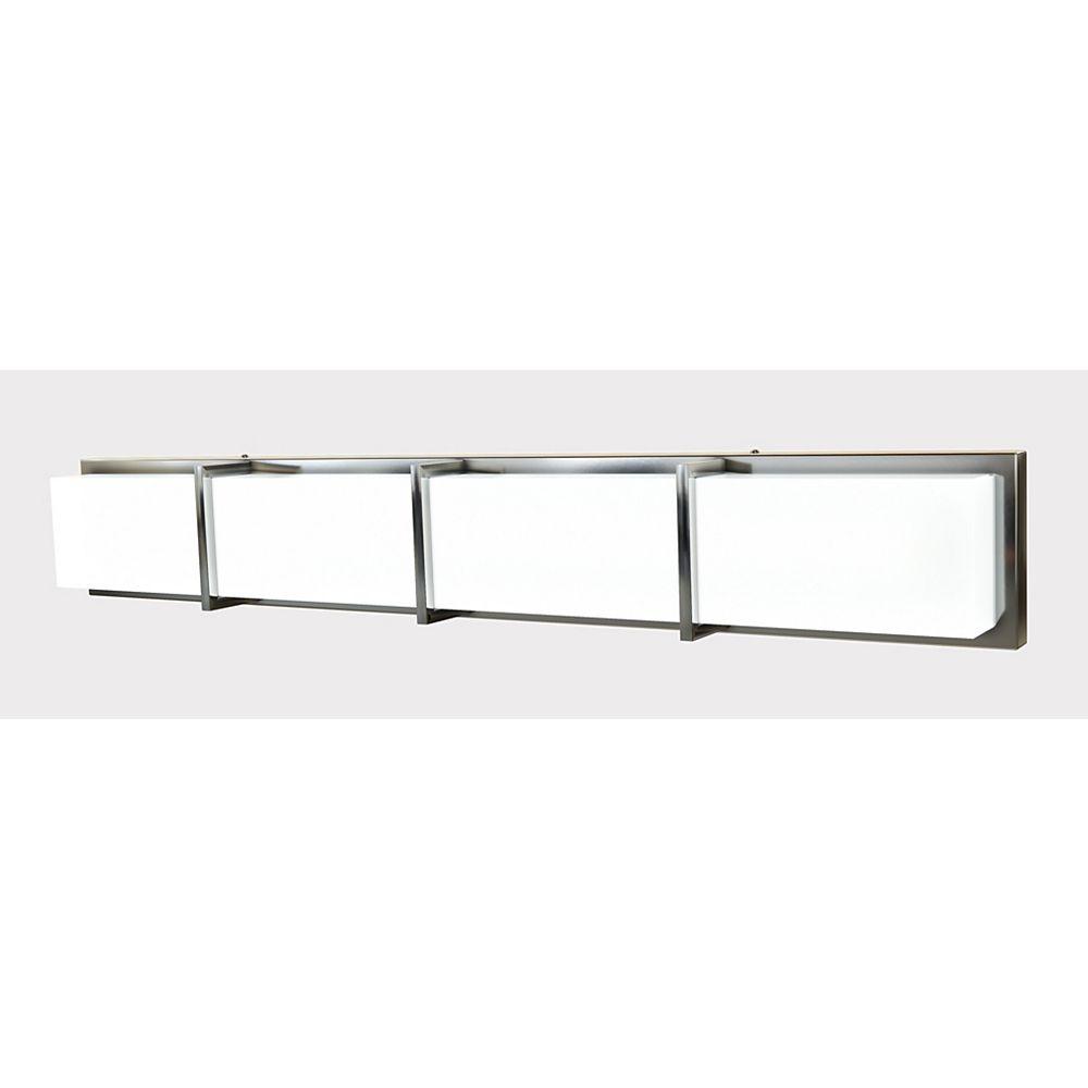 Home Decorators Collection 4 Light Led, Home Depot Canada Bathroom Vanity Lights