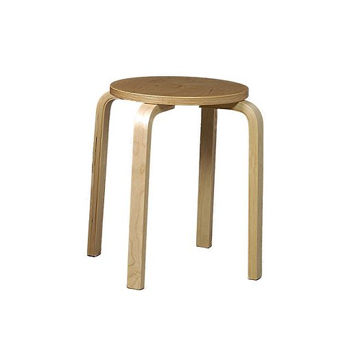Natural Bentwood Multipurpose Stool (Set of 4)