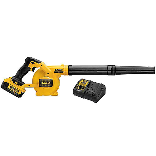 135 MPH 100 CFM 20V MAX Lithium-Ion Cordless Blower Kit with Battery 4Ah and Charger