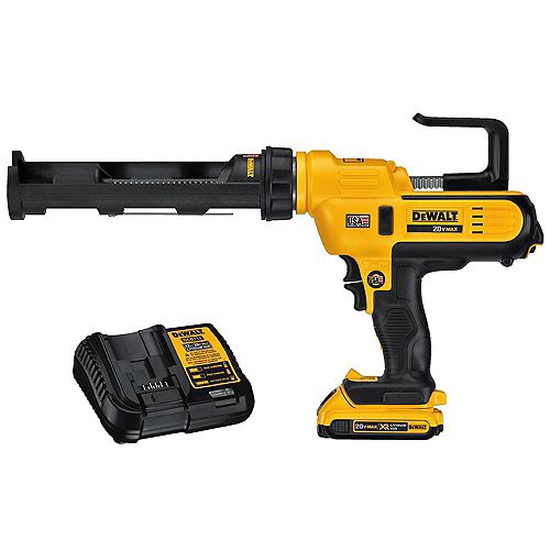 20V MAX Lithium-Ion Cordless 300 ml Adhesive Gun Kit with Battery 2Ah and Charger