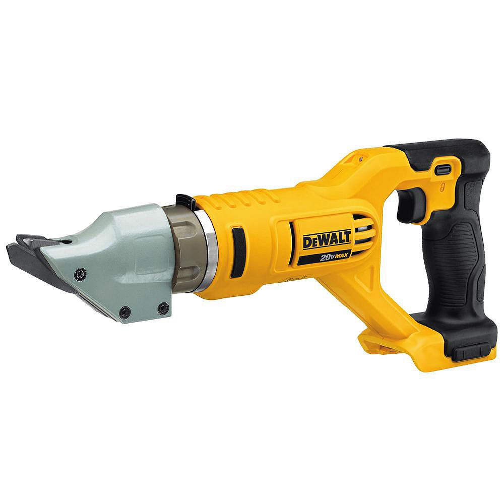 Dewalt 20v Max Lithium Ion Cordless 14 Gauge Swivel Head Double Cut Shears Tool Only The Home Depot Canada