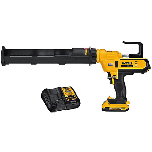 20V MAX Lithium-Ion Cordless 600 ml Adhesive Gun Kit with Battery 2Ah and Charger