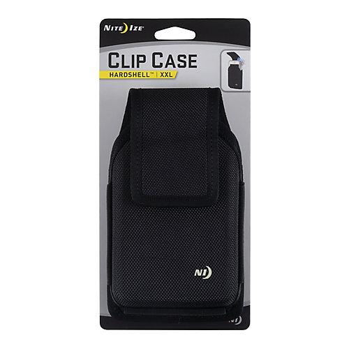 Étui robuste universel Clip Case Hardshell - TTG - Noir
