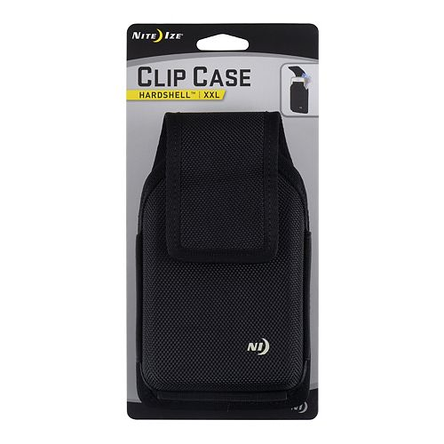 Clip Case Hardshell Universal Rugged Holster XXL Black
