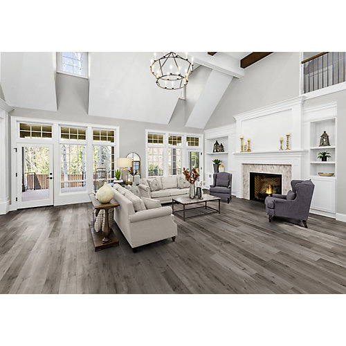 12mm Winter Oak Laminate Flooring (18.94 sq. ft. / case)